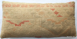 Vintage kilim cover rectangle (40*80cm) #LR2