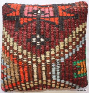 Tiny Kilim Cushion Cover #43