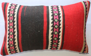 Vintage kilim cover - small rectangle #SR30