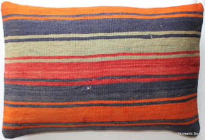 Vintage kilim cover rectangle (40*60cm) #KR100