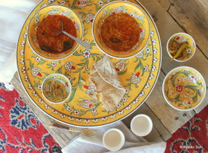 Soloman's Platter Set in Yellow