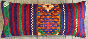 Vintage Kilim cover rectangle (30*70cm) #L3734
