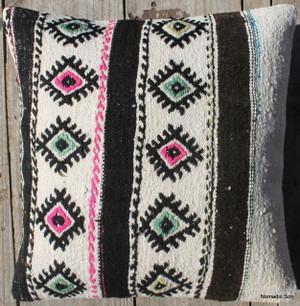 Vintage kilim cover - 45cm #146
