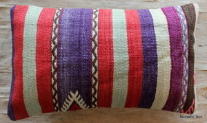 Vintage kilim cover - small rectangle (30*50cm) #SR87