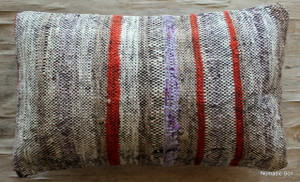 Vintage kilim cover - small rectangle (30*50cm) #SR95