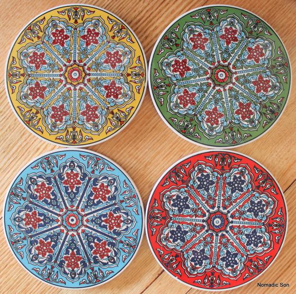Round Trivet - #24 - Lattice (4 colour options)