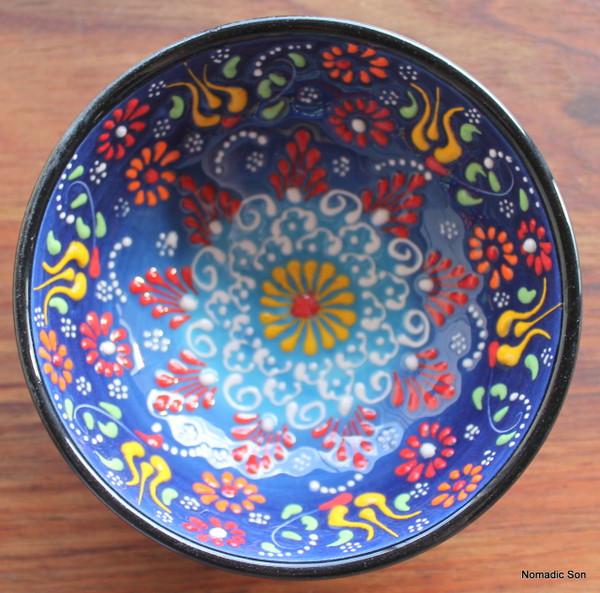 Special Kabartma ceramic bowls - 12cm