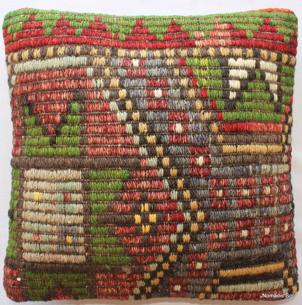 Kilim Cushion Cover (35*35cm) #43