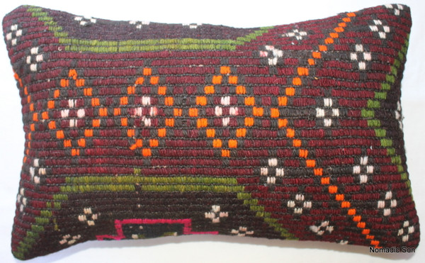 Vintage kilim cover - small rectangle #SR24