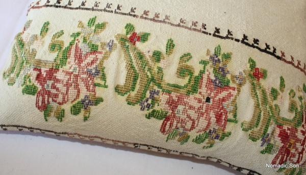 Vintage kilim cover rectangle (35*50cm) #TR24
