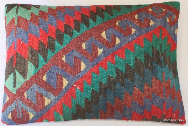 Vintage kilim cover rectangle (35*50cm) #TR31