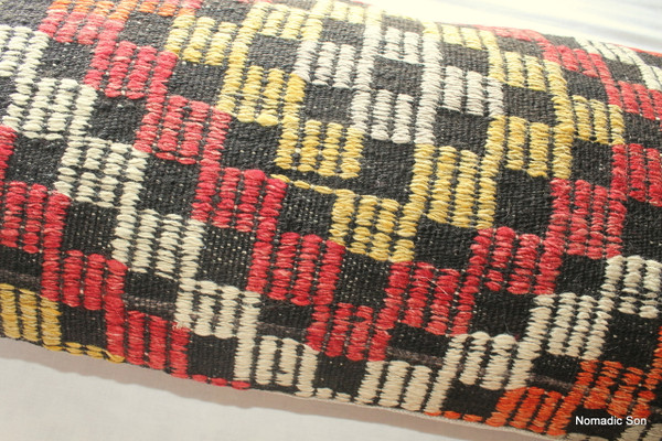 Vintage kilim cover rectangle (40*80cm) #LR14