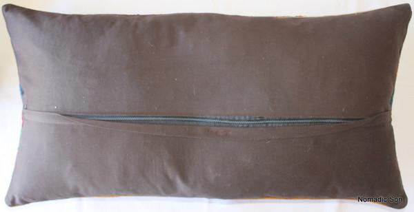 Vintage kilim cover rectangle (40*75cm) #DC8