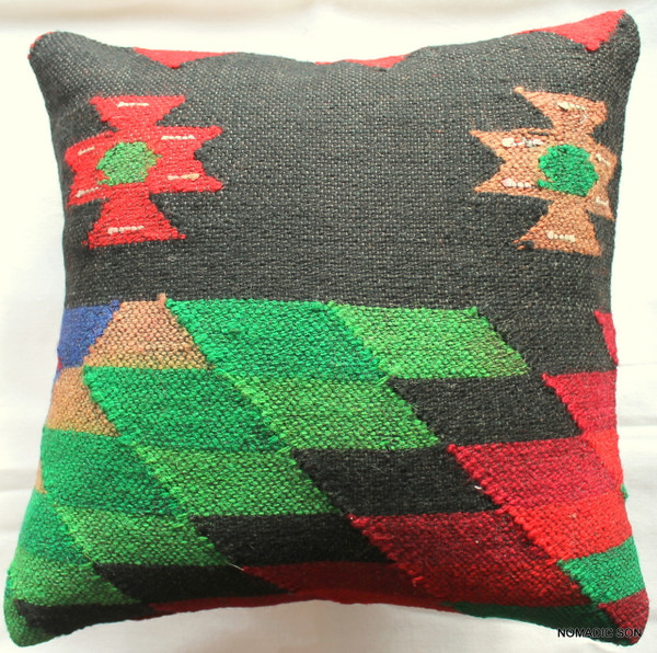 Kilim Cushion Cover (35*35cm) #45