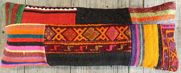 Vintage Kilim cover rectangle (25*70cm) #L3736