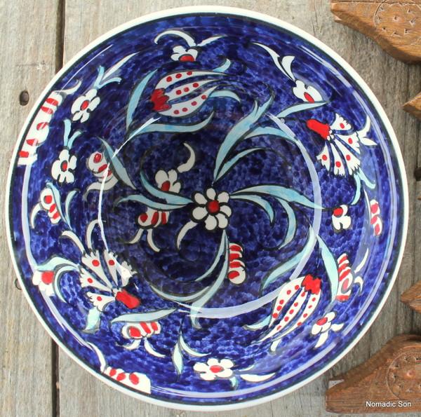 Soloman's Soup Bowl - Hand painted - Food safe
