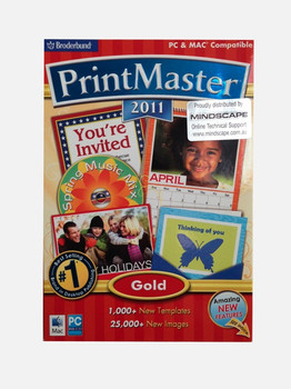 Printmaster Gold 2011 for PC & MAC