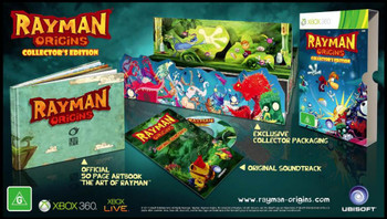 Rayman Origins Collectors Edition for Xbox 360
