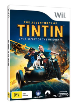 The Adventures of Tintin: The Secret of the Unicorn for Nintendo Wii