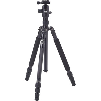 Sirui T-004X Aluminum Tripod with C-10S Ball Head (Black) [SPECIAL 50% OFF - limited stock]