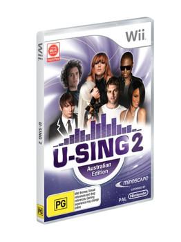 U-sing 2 Australian Edition + 1 Logitech mic for Nintendo Wii