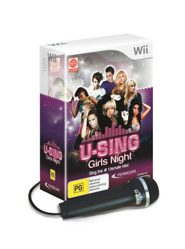 U-Sing Girls Night  + 1 Logitech mic (Wii) (Wii U)