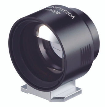 Voigtlander Viewfinder - 40mm metal, black