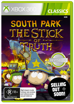 South Park The Stick of Truth (Xbox 360 + Xbox One Backward Compatible) Australian Version - Best Seller