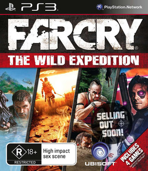 Far Cry The Wild Expedition (PS3) 4 Game Compilation Australian Version