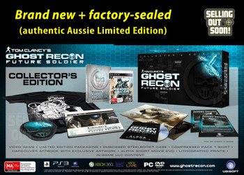 Tom Clancy's Ghost Recon Future Soldier Collectors Edition for PS3