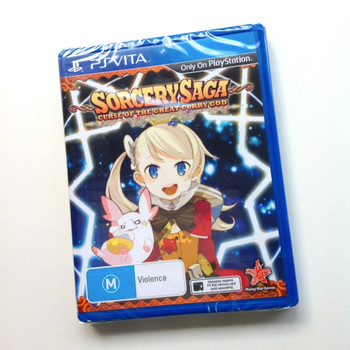 Sorcery Saga Curse of the Great Curry God (Vita)