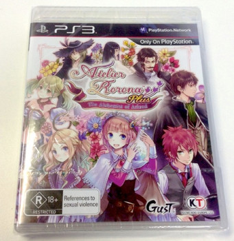 Atelier Rorona Plus: The Alchemist of Arland (PS3) Rare Australian Version