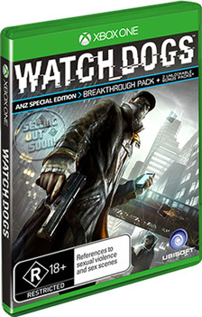 Watch Dogs ANZ Special Edition (Xbox One)