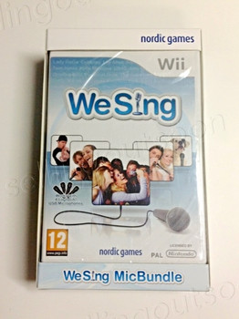 We Sing Game Bundle + 2 Microphones (Wii) (Wii U)
