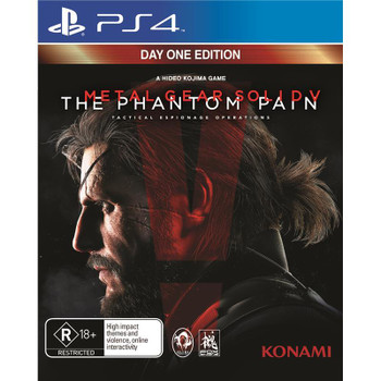 Metal Gear Solid V The Phantom Pain Day One Edition (PS4) T88