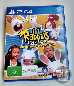 Rabbids Invasion The Interactive TV Show (PS4)