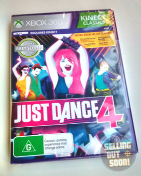 Just Dance 4 (Xbox 360) Kinect Australian Version