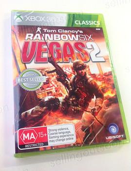 Rainbow Six Vegas 2 R6V2 (Xbox 360) Classics Australian Version