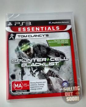 Splinter Cell Black List Essentials ANZ (PS3)