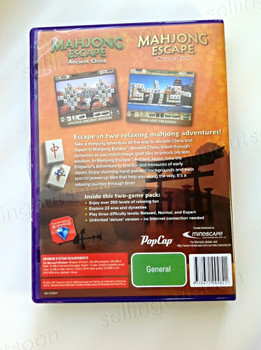 Mahjong Escape: Ancient China & Japan Double Pack (PC)