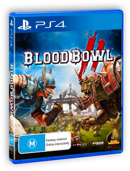 Blood Bowl 2 (PS4) Rare Australian Version