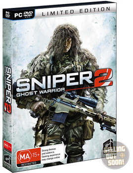 Sniper Ghost Warrior 2 (PC) Limited First Edition Australian Version