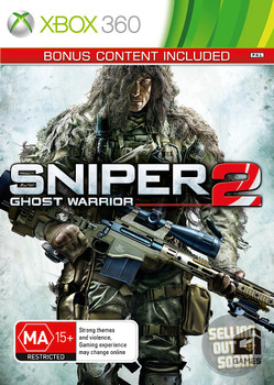 Sniper Ghost Warrior 2 (Xbox 360) + Bonus Content Limited First Edition Australian Version