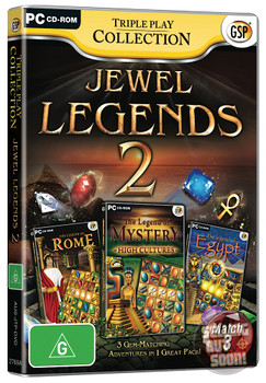 Jewel Legends 2 Triple Play Collection (PC) Australian Version