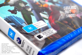 Earth Defence Force 2: Invaders from Planet Space (Vita) RARE Australian Version