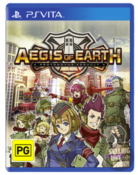 Aegis of Earth: Protonovus Assault (Vita) RARE Australian Version