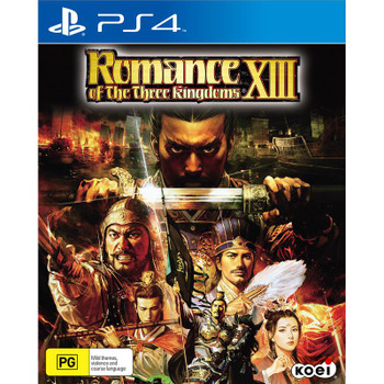 Romance of Three Kingdoms XIII (PS4) Australian Version