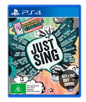 Just Sing (PS4) Game Australian Version