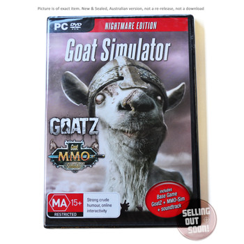 Goat Simulator - Nightmare Edition (PC) Australian Version