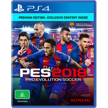 Pro Evolution Soccer 2018 Premium Edition (PS4) Australian Version PES 18